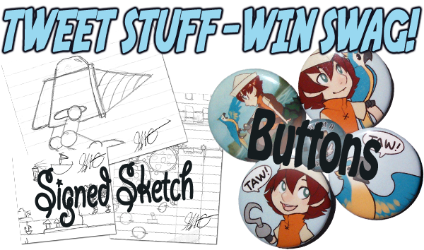 Tweet Stuff - Win Swag!