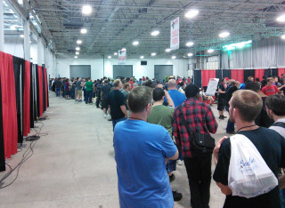 This was the line for AVGN